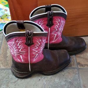 Pink Durango Boots